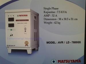 AVR 7,5 KVA